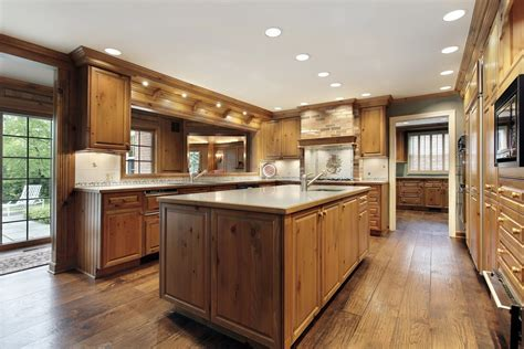 Kitchen Design Layouts With Islands tradition aged engineered oak flooring