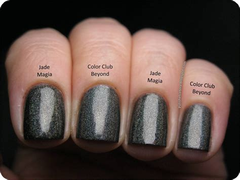 color club color club holo hues 2013 swatches and comparisons