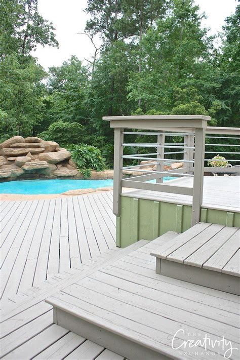 best paints to use on decks and exterior wood features colors wood decks and behr