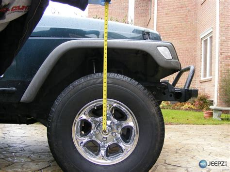 height of jeep what s the height of a stock wrangler