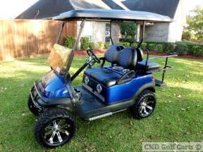Custom Golf Cart Seat Upholstery Recently Modified And Sold Ez Go And Club Car Golf Carts
