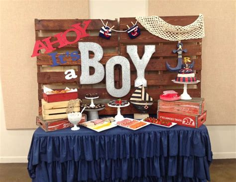 ahoy its a boy decorations nautical baby shower quot ahoy it s a boy quot catch my