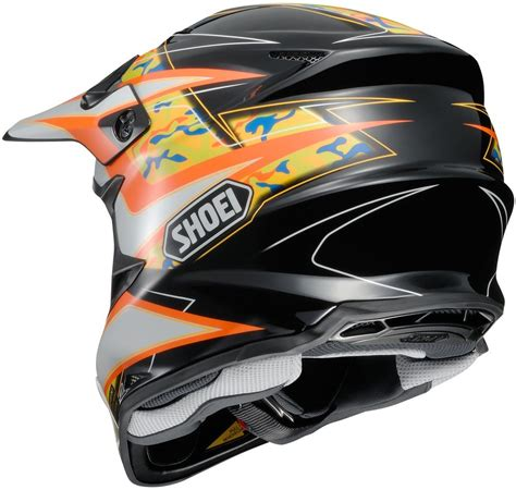 shoei motocross 404 33 shoei vfx w turmoil dot approved motocross mx 995196