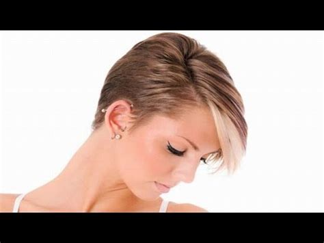 recent tv ads featuring asymmetrical female hairstyles best pixie haircuts for short hair short women