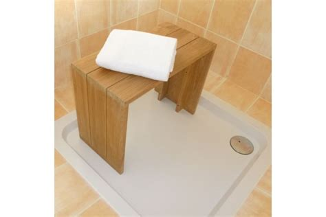 Formidable Resine Pour Salle De Bain #5: banc-teck-massif-pour-salle-de-bains-60-cm.jpg