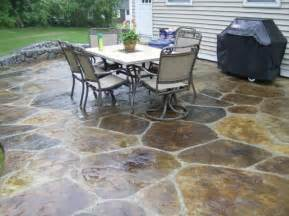 Backyard Concrete Patio Ideas Simple Paver Patio Home Design Scrappy
