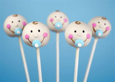 baby shower cake pops baby faces bakerella