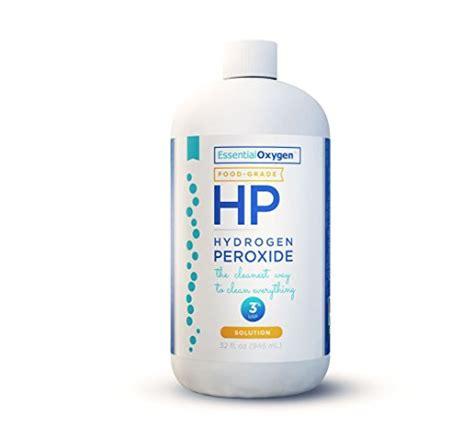 Will Hydrogen Peroxide Cause A Detox Crisis by Essential Oxygen Hydrogen Peroxide Food Grade 32 Fl Oz