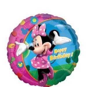 Dijamin Balon Foil Cake Minnie Mickey birthday balloon city image inspiration of cake and birthday decoration