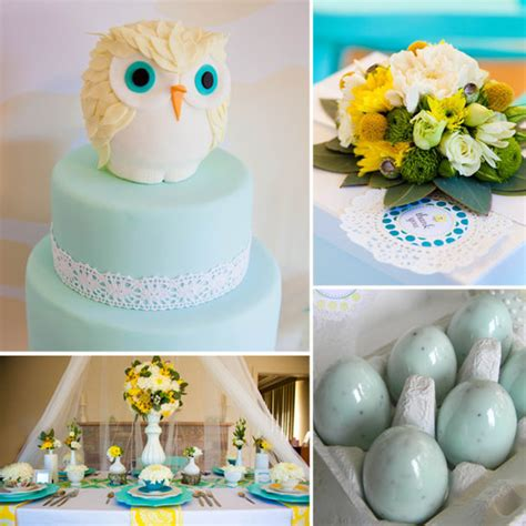owl theme owl themed baby shower popsugar
