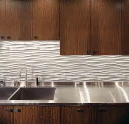 Small Kitchen Tiles Design Wave Backsplash