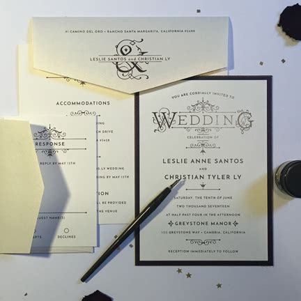 Wedding Invitations Morristown Nj by La Papeterie Morristown Nj Wedding Invitations