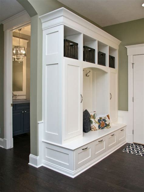 Mudroom Storage | 32 small mudroom and entryway storage ideas shelterness