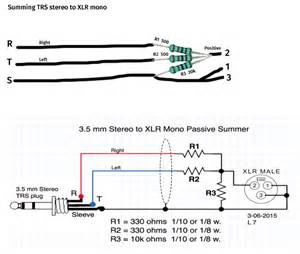 trs stereo to xlr mono summing cable gearslutz pro audio community