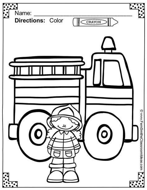 fire prevention coloring pages az coloring pages