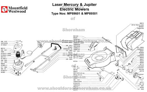 Sparepart Jupiter mp89601 mp89501 mountfield laser mercury 42 jupiter 46