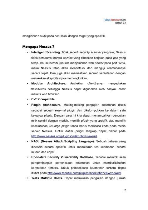 tutorial zahir versi 5 1 tutorial nessus 6 2 versi1