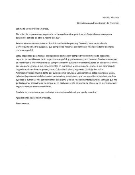 Modelo De Carta De Presentaci N De Un Curriculum plantilla de carta de presentaci 243 n que acompa 241 ar 225 al curr 237 culum vitae paperblog