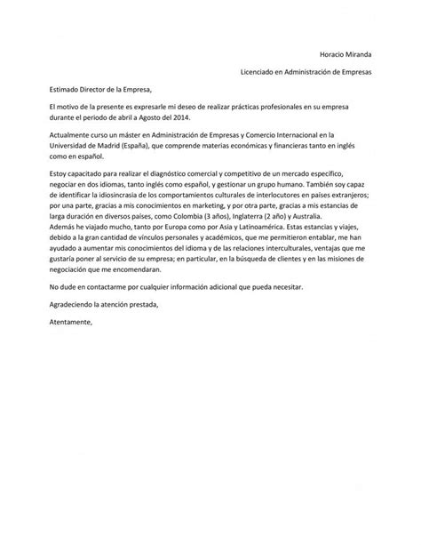 Modelo De Carta De Presentacion En Curriculum Vitae Plantilla De Carta De Presentaci 243 N Que Acompa 241 Ar 225 Al Curr 237 Culum Vitae Paperblog