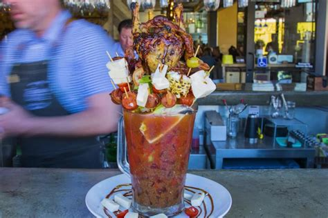 top bloody marys  america food