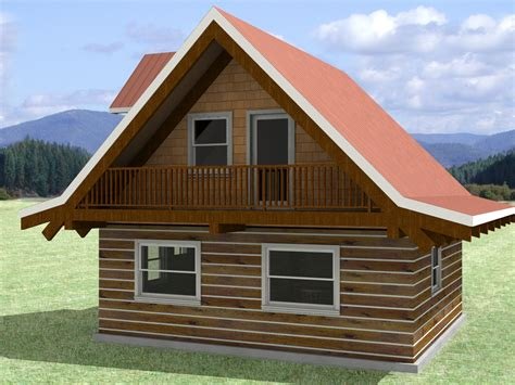 simple log cabin house plans