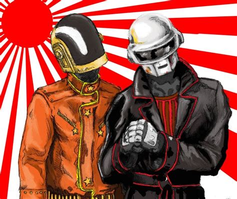 daft punk anime a daft punk inspired art show raverrafting