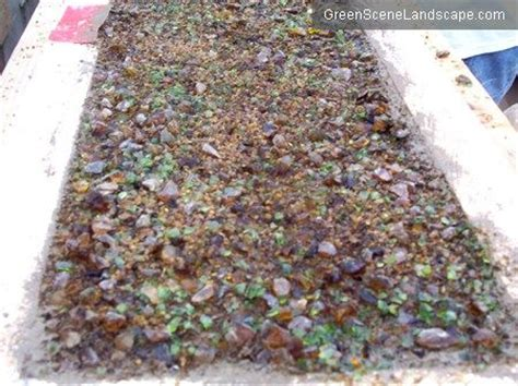 Diy Recycled Glass Concrete Countertops by Best 20 Concrete Countertops Ideas On