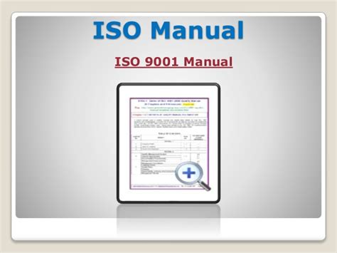 Why Does Require Different Types Of Iso Documentation Template Iso Document Template