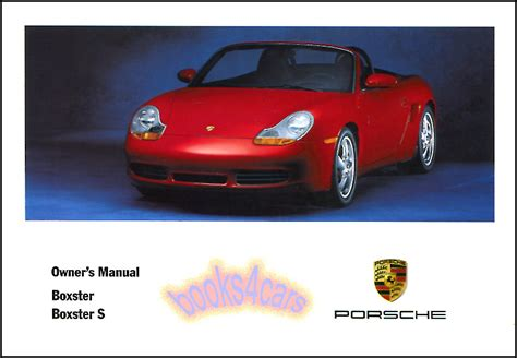 how to download repair manuals 2006 porsche boxster electronic valve timing 2002 porsche boxster owners manual book s convertible handbook 02 guide wkd 986 ebay