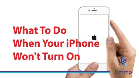 what to do when your iphone won t turn on