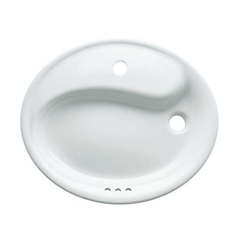 kohler wading pool sink review kohler yin yang wading pool drop in vitreous china