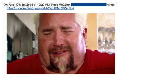 Guy Fieri Memes - you ve got a ton of f ing mail top 10 emails from the uncc email scandal of 2015