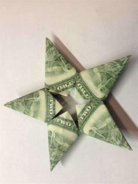 origami money christmas gift idea decorative way to give money can also make a 6 pt made by megan money
