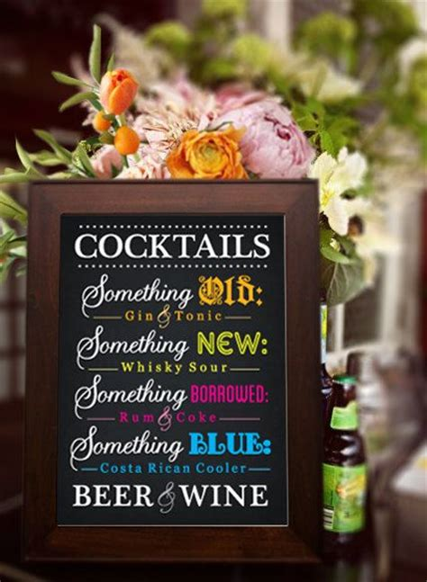cocktail menu ideas 10 best images about amazing ideas for a themed