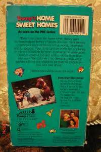 barney home sweet homes barney friends collection home sweet homes vhs 2