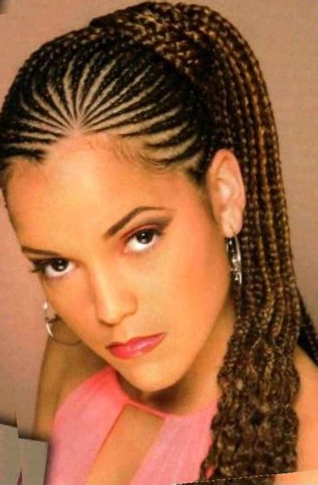 braids hairstyles black women feathers nigerian hairstyles see photos