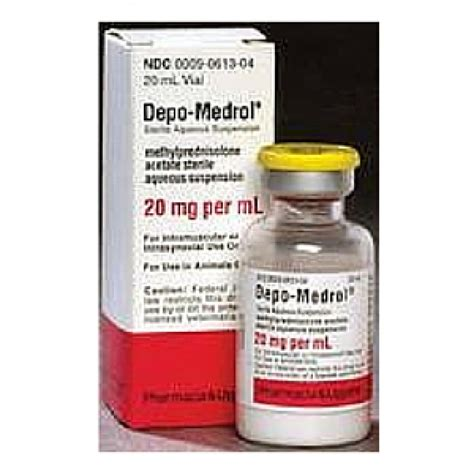 depo medrol for dogs depo medrol injectable