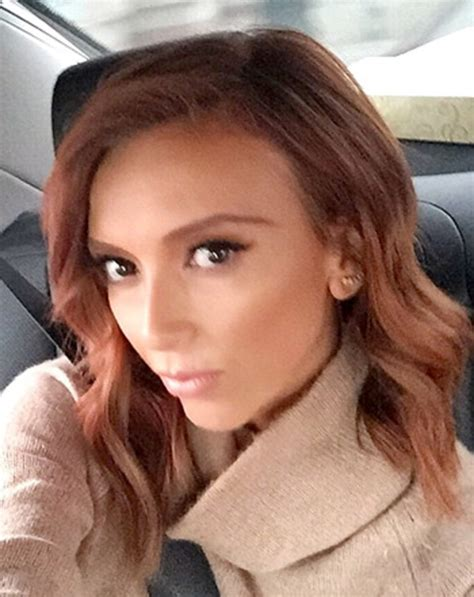 why did guilliana rancic color her hair giuliana rancic dyes hair red photo us weekly