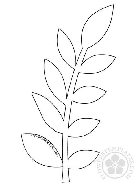 Free Paper Leaf Template