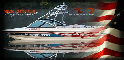 starcraft boat bimini top wakeboard towers and accessories by new dimension towers
