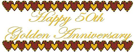 50th Anniversary Clipart Cliparts Co Clipart 50th Wedding Anniversary