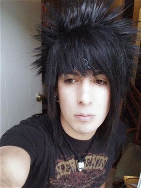 how to get emo hairstyles & haircuts for men | men