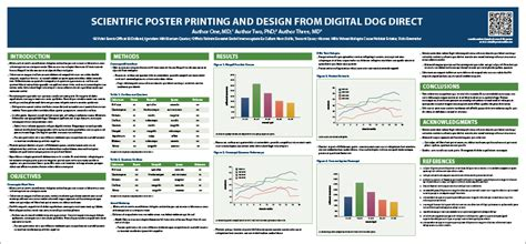 scientific poster presentation template scientific poster template digital direct