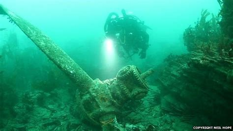 sound diving plymouth quest to solve wwii wreck mystery in plymouth sound news