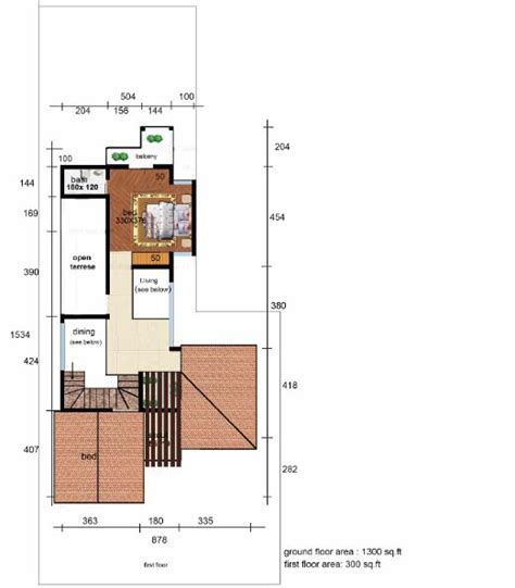 1600 sqft 3 bhk budget house design from triangle visualizer 1600 sq ft 3 home pictures easy tips