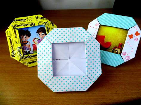 Origami Picture Frame 4x6 - origami origami photo frame origami paper and origami