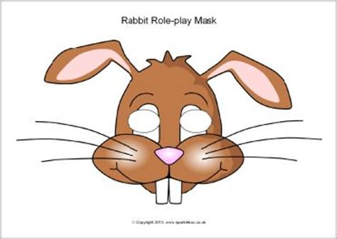 printable hare mask pinterest the world s catalog of ideas