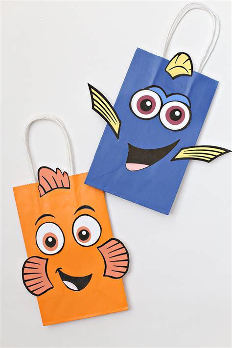 Goodybag Nemo disney finding dory favor idea see craft