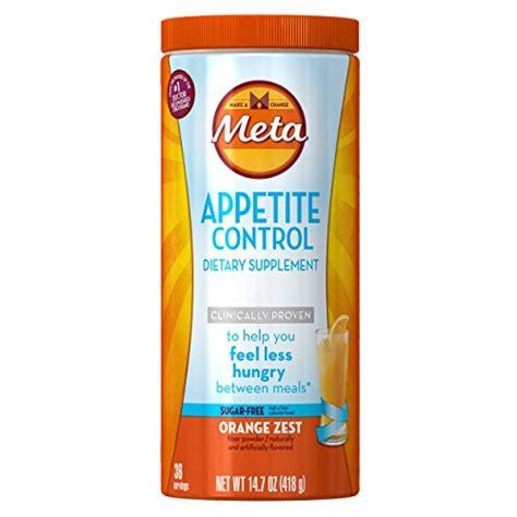 Metamucil Detox by Metamucil Appetite Dietary Supplement Sugar Free