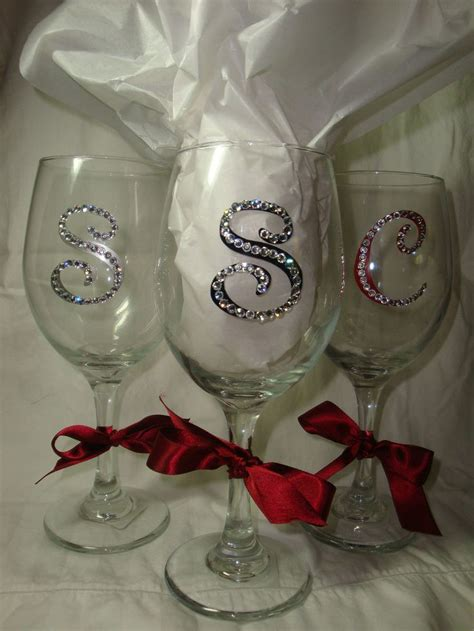 Decorated Wine Glass by 1000 Ideas About Decorated Wine Glasses On
